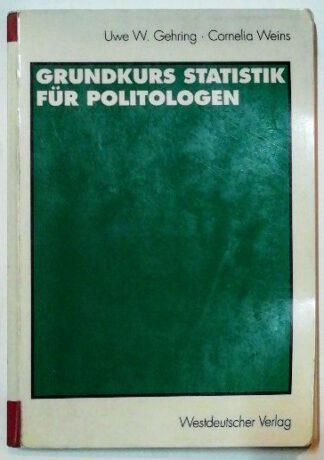 Grundkurs Statistik für Politologen.