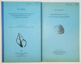 2 Bände: 1. Die Schnecken (Gastropoda Prosobranchia) der deutschen Meeresgebiete und brackigen Küstengewässer; 2. Die Muscheln (Bivalvia) der deutschen Meeresgebiete.