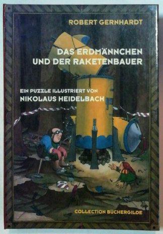Das Erdmännchen und der Raketenbauer [Puzzle – 500 Teile].
