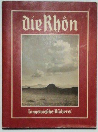 Die Rhön [Langewiesche-Bücherei].