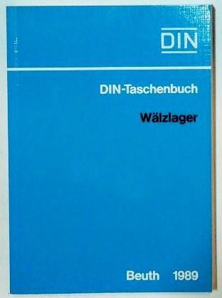 DIN-Taschenbuch – Wälzlager.