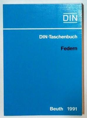 DIN-Taschenbuch – Federn.