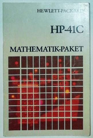 Bedienungsanleitung HP-41C – Mathematik-Paket.