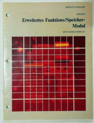 HP82180A Erweitertes Funktions/Speicher-Modul – Benutzerhandbuch.