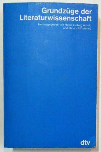 Grundzüge der Literaturwissenschaft.