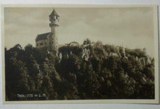 Ansichtskarte Burg Teck, 775m ü. M. [ungelaufen].
