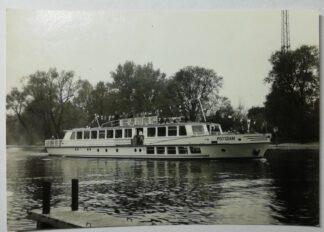 Ansichtskarte Weisse Flotte Potsdam – MS Potsdam [ungelaufen].