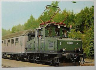 Ansichtskarte DB 169 002 im Bf. Grafenaschau im Sept. 1976 [ungelaufen].
