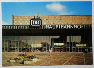 Ansichtskarte Braunschweig – Teilansicht des Hauptbahnhofs [ungelaufen].