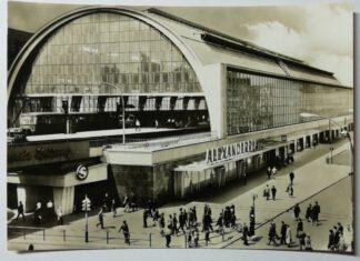 Ansichtskarte Berlin – Bahnhof Alexanderplatz [ungelaufen].