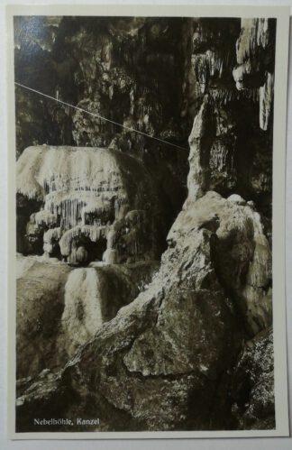 Ansichtskarte Genkingen – Nebelhöhle, Kanzel [ungelaufen].