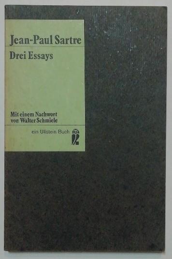 Drei Essays.